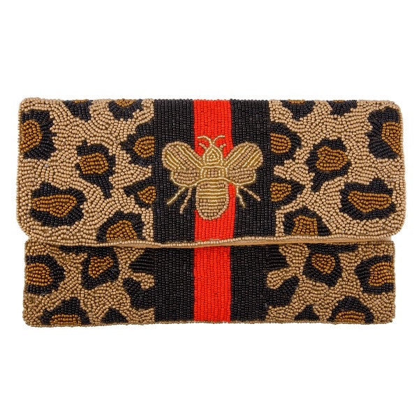 The Beaded Bee Clutch