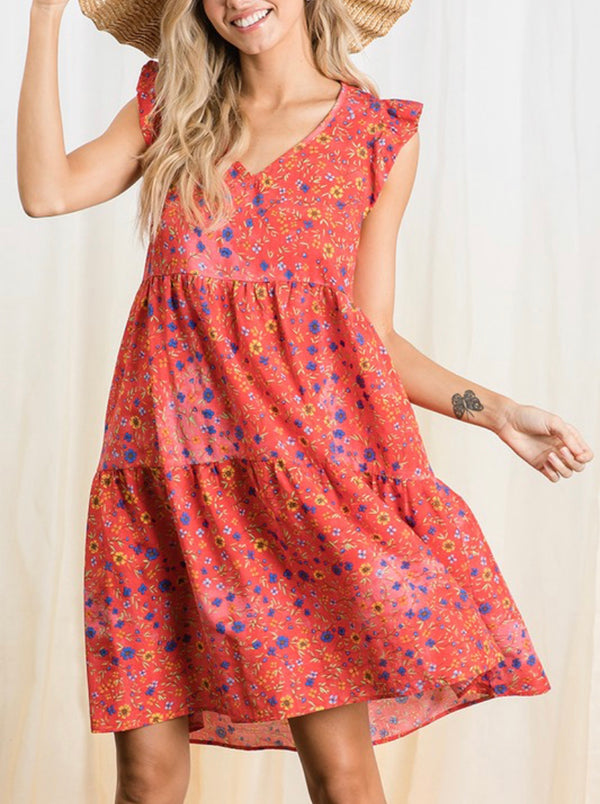 The Valencia Floral Dress