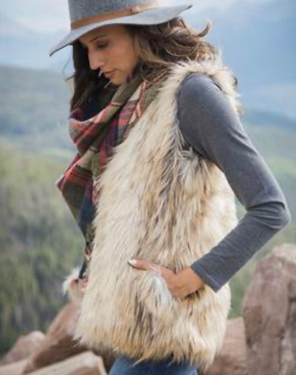 The Alpine Faux Fur Vest