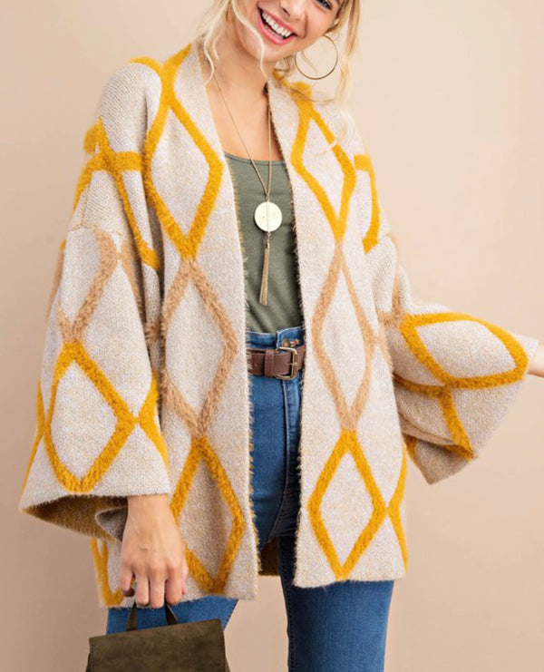 The Argyle Love Cardigan