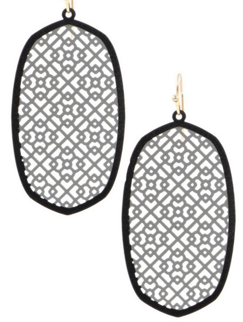 The Moroccan Cutout Earrings