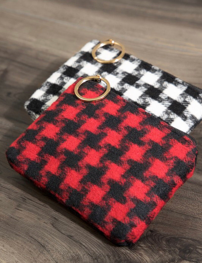 All about the Houndstooth Coin Purse