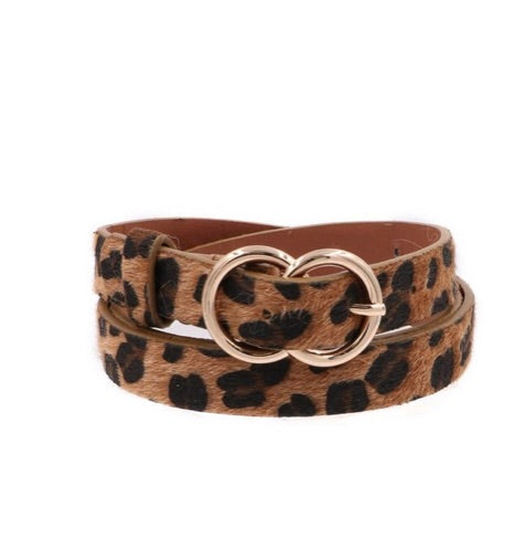 The Skinny Leopard Inner Circle Belt