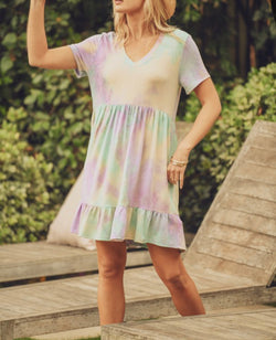 The Keene Tie Dye Dress