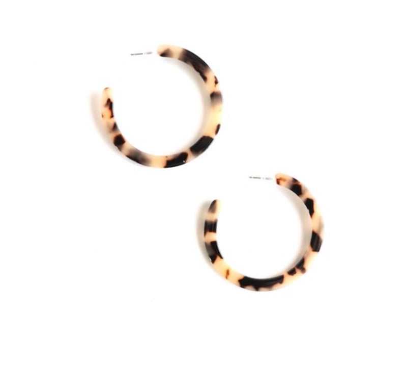 The Blonde Tortoise Hoops