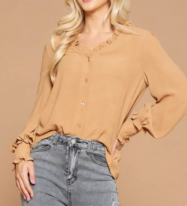 The Raelynn Ruffle Top