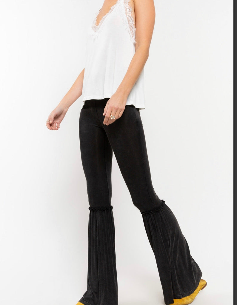 The Elevated Comfy Casual Black Pants