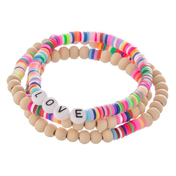 All you Need is Love Bracelet Set