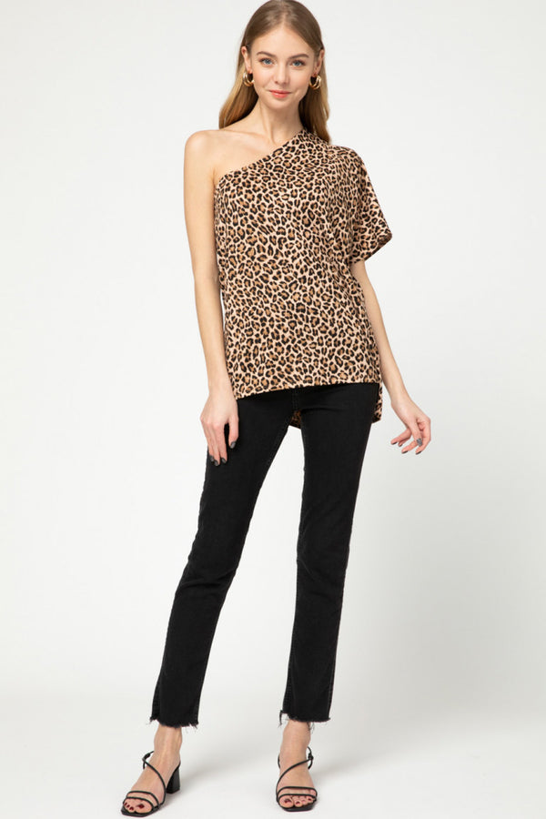 The Leopard Mia Top