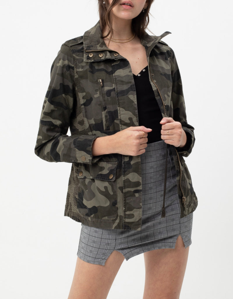 The Best Little Camo Utility Jacket