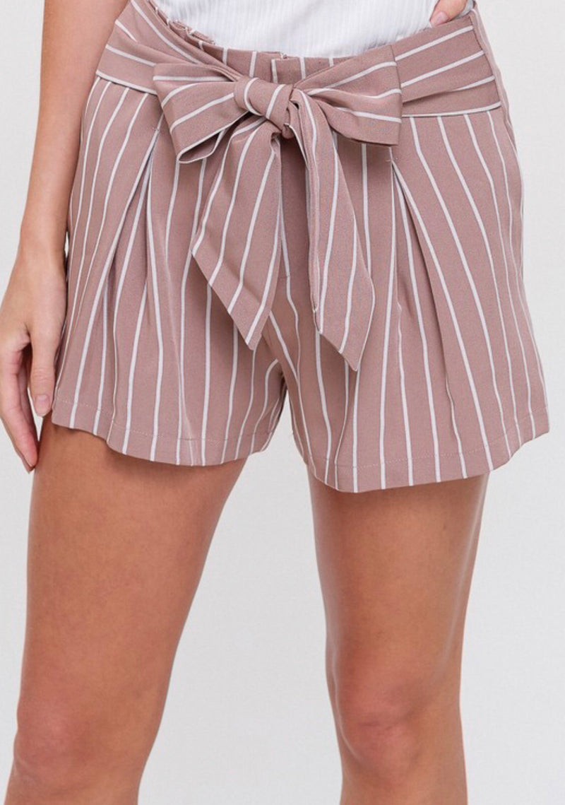 The Maureen Mauve Shorts