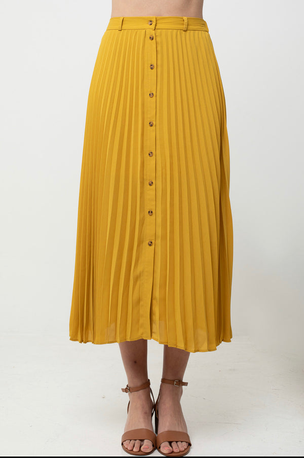 The Taylor Pleated Skirt