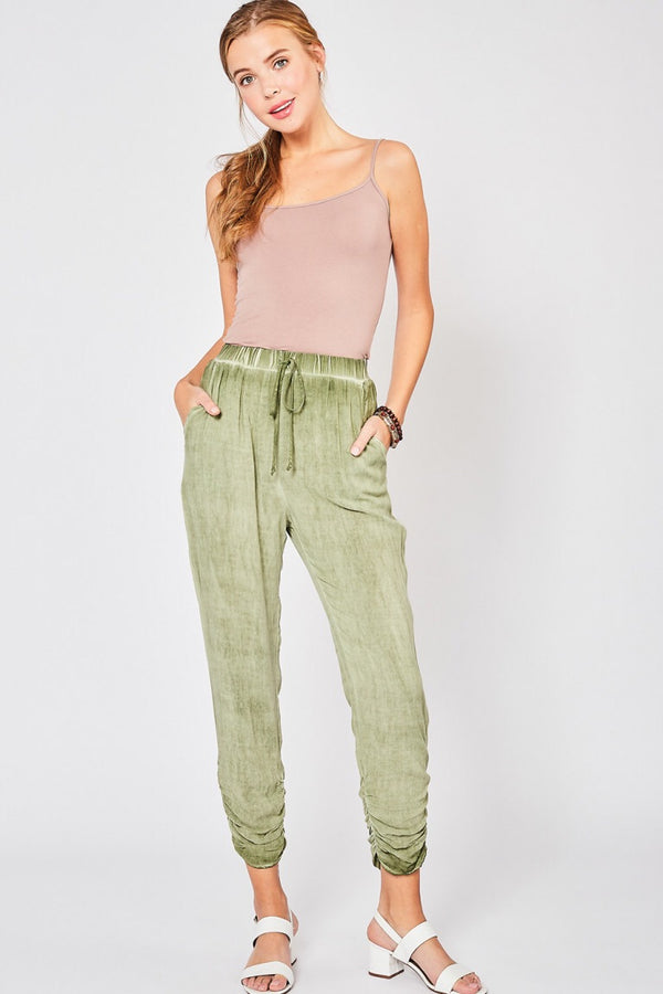 The Olive Relaxed Joggers