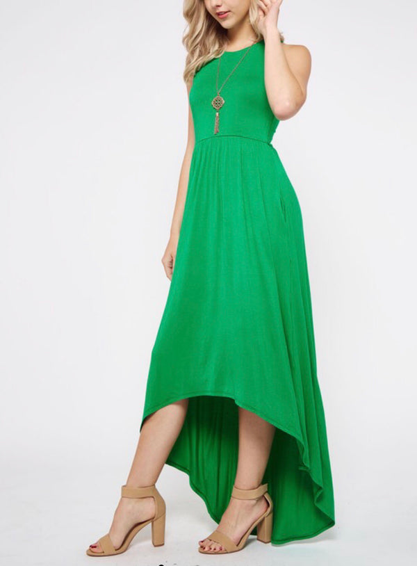 The Suzy High-Low Maxi Dress