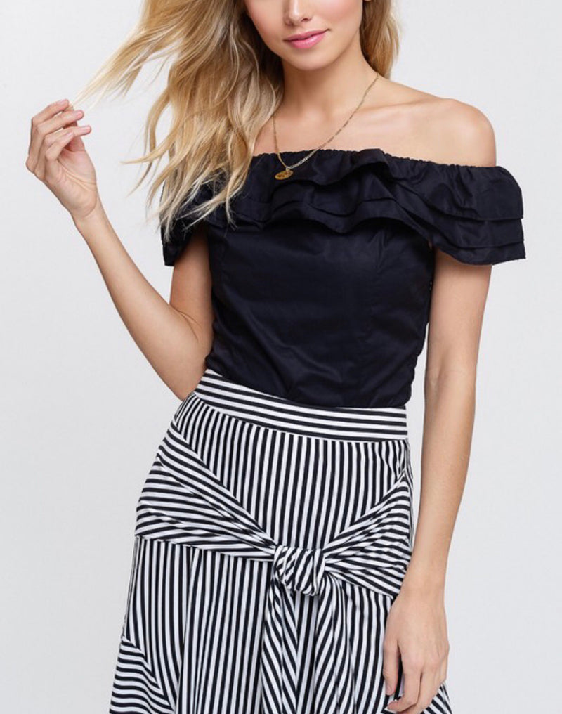 The Ruffled Reece Top