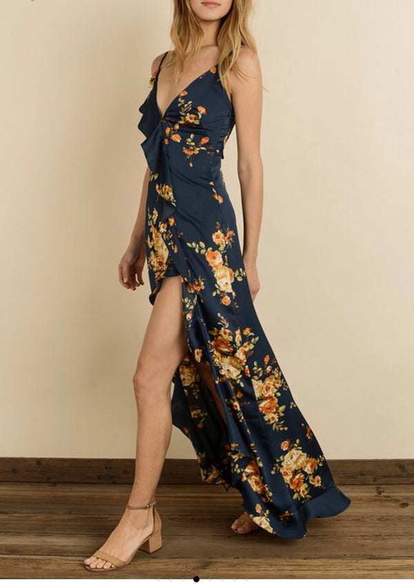 The Ana Flowy Floral Maxi Dress