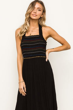 The Lydia Halter Dress