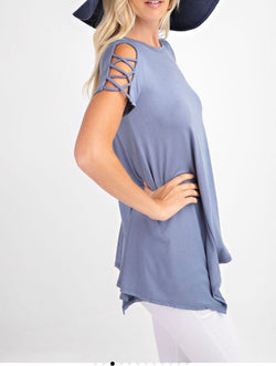 The Shandy Blue Top