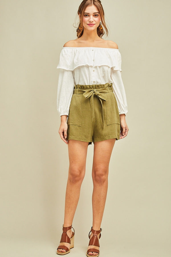 The Lora Linen Shorts