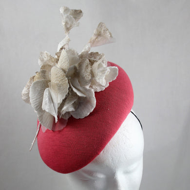 Coral Percher with Ivory/Gold Trim