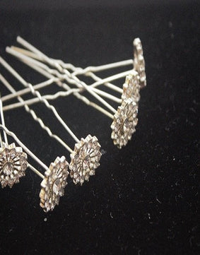 Set of 6 Bridal Hair Pins