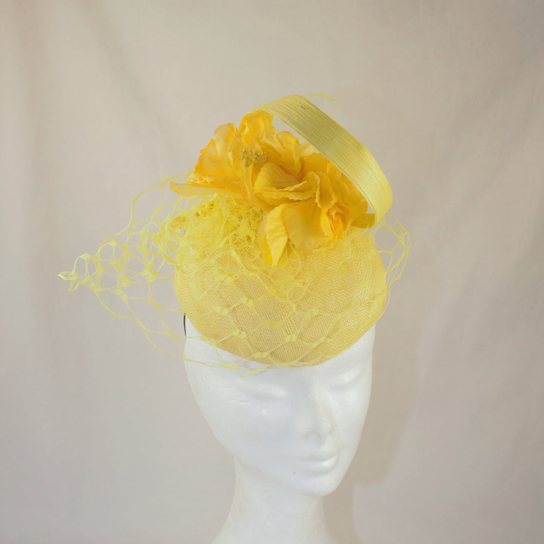 Yellow Button Headpiece