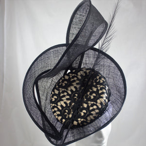 Ebony Lace Hat