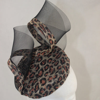 Leopard and Crin Headpiece