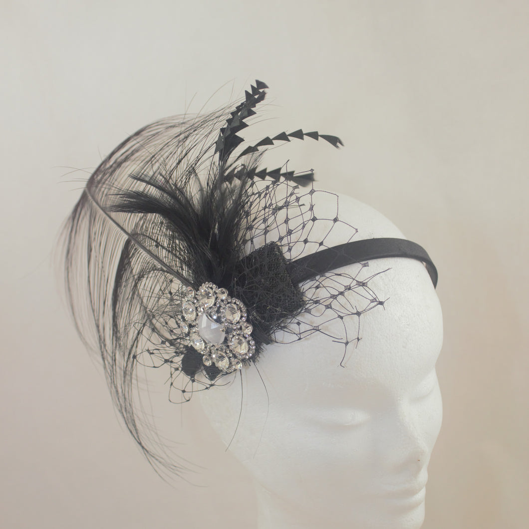 Downton Cocktail Headpiece