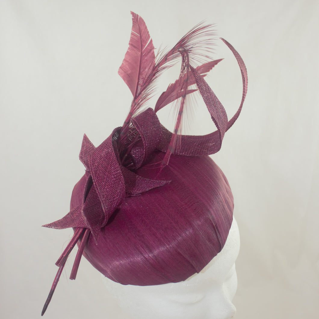 'Ronnie' Silk Headpiece