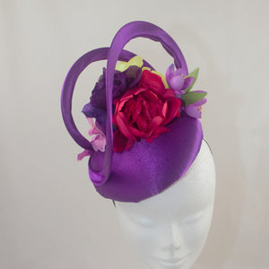'Shirley' Floral Headpiece