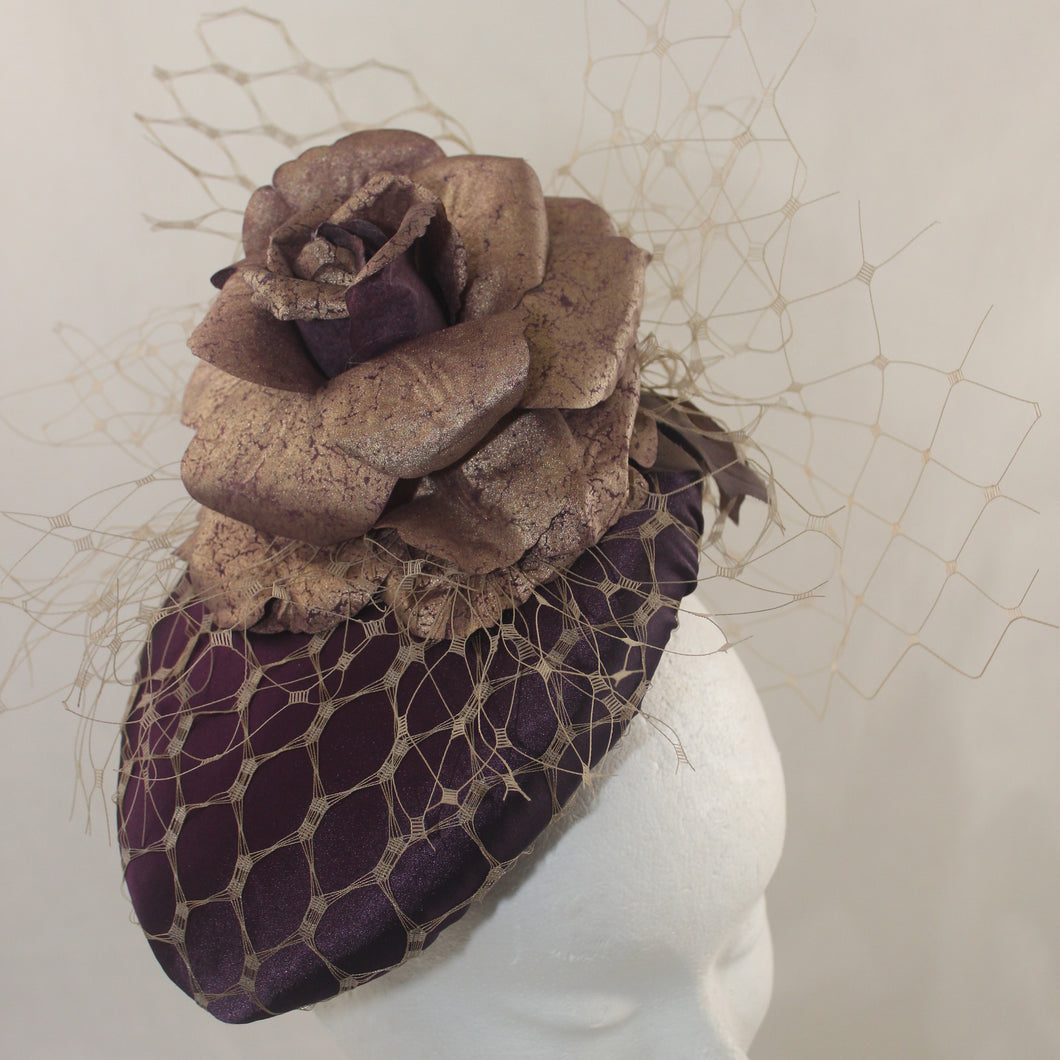 Gold and Plum Percher