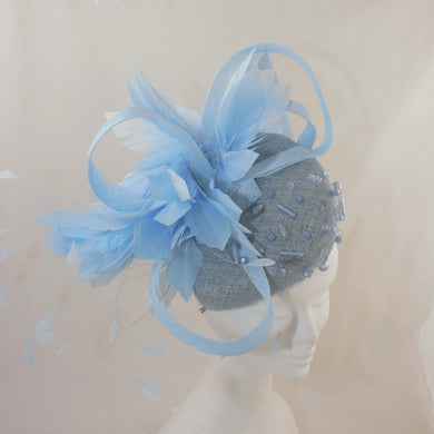 Baby Blue Headpiece