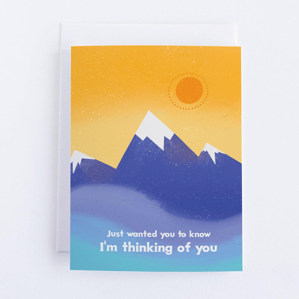 Thinking of You - Blue Mountains Greeting Card
