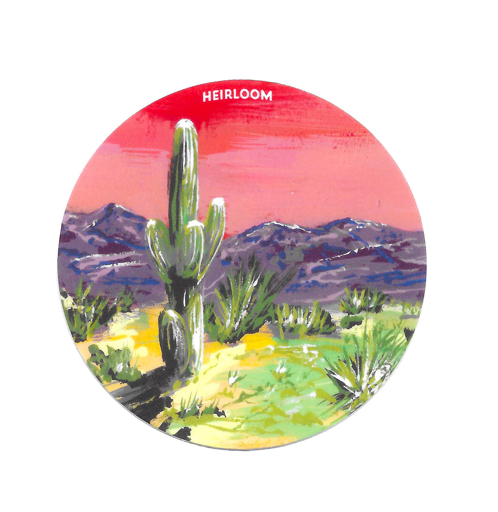 Desert Daydream Sticker | Art Decal
