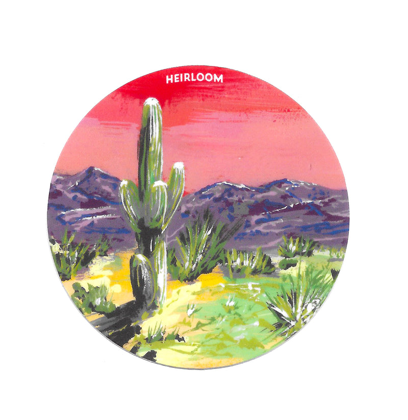 Desert Daydream Sticker | Vinyl Art Decal