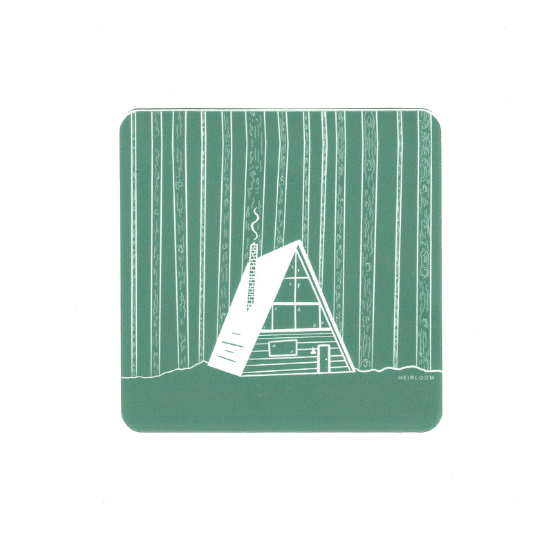 Forest A-Frame Sticker | Vinyl Decal