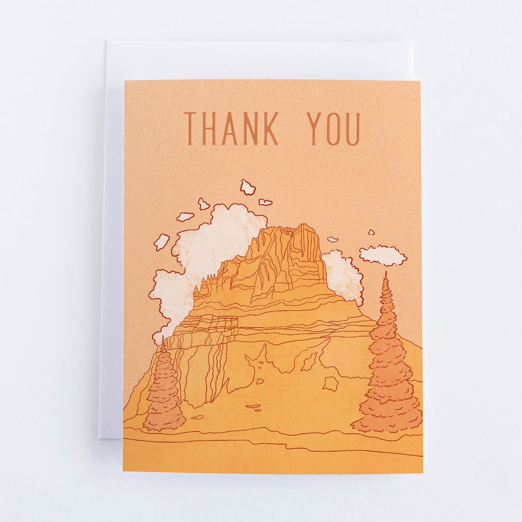 Mount Reynolds Thank You Greeting Card