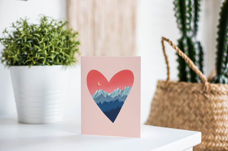 Mountain Love Greeting Card