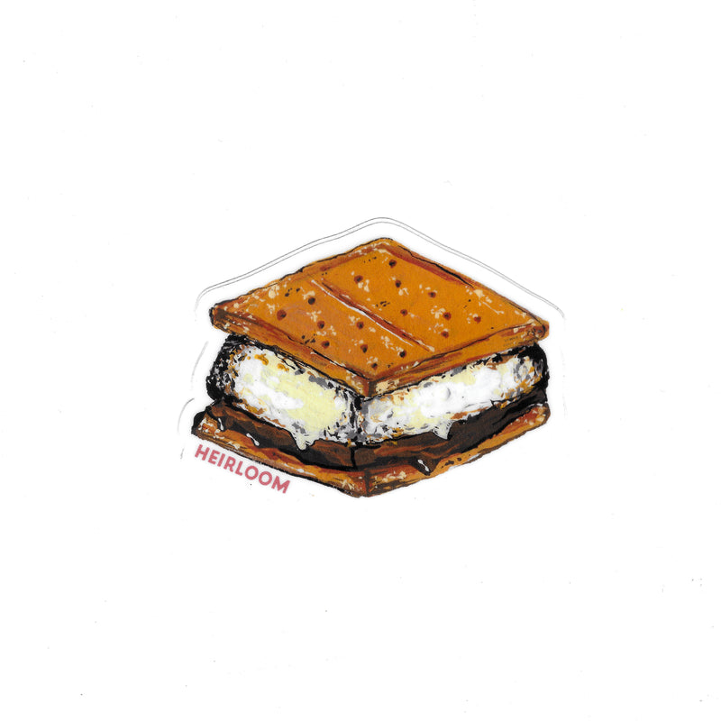 S'more Vinyl Sticker