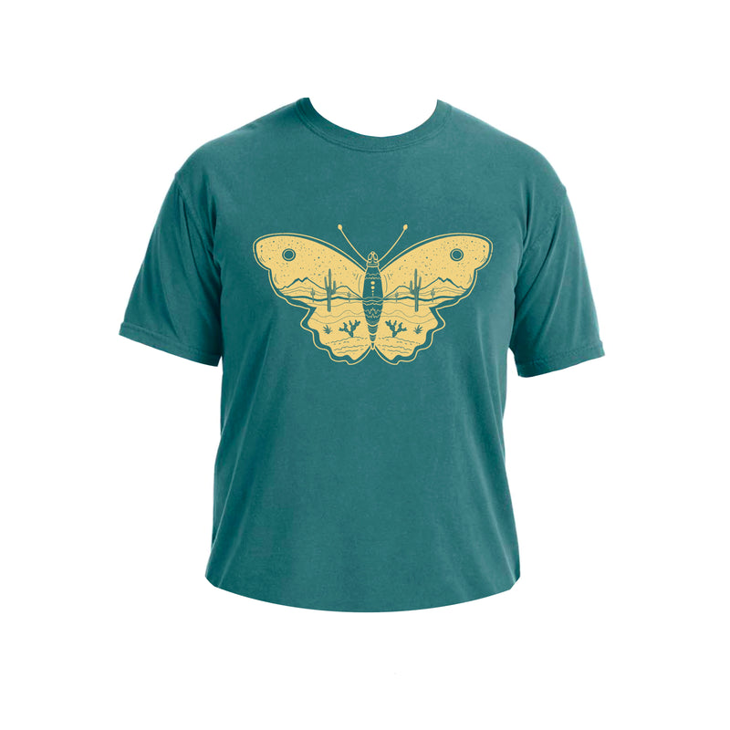Desert Butterfly Art T- Shirt