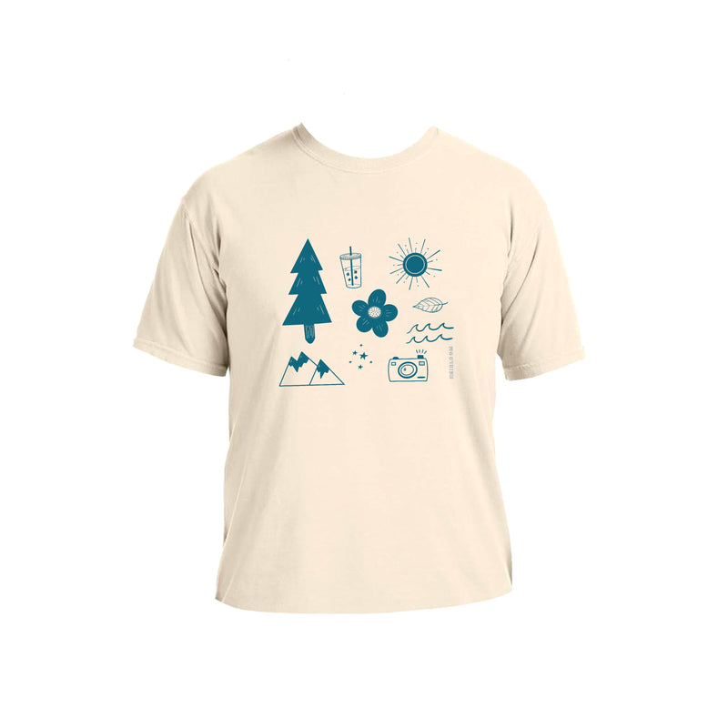 Day in the Mountains Art T-Shirt