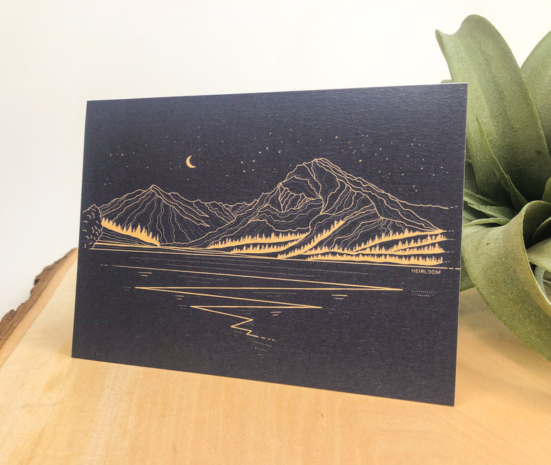 Lake Wenatchee Greeting Card