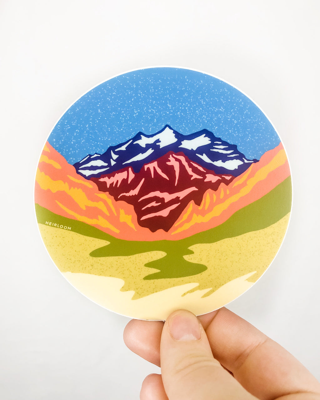 Mountain Valley Sticker | Vinyl Decal