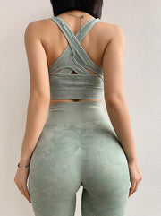 Camo Seamless Set in Oxley Green | Allure Apparel Co