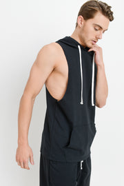 Essential Muscle Hoodie Top | Allure Apparel Co