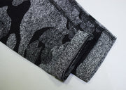 High Waisted Breathable Camo Leggings in Black | Allure Apparel Co