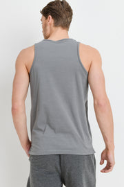 Supima Blend Tank Top with Pocket in Green | Allure Apparel Co