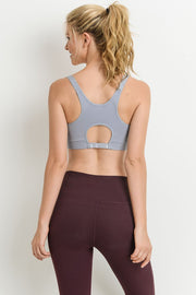 Cutout Back Seamless Sports Bra | Allure Apparel Co