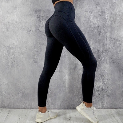 Women's Push Up Leggings High Waisted in Black | Allure Apparel Co